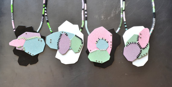 geometric necklaces, group photo 2