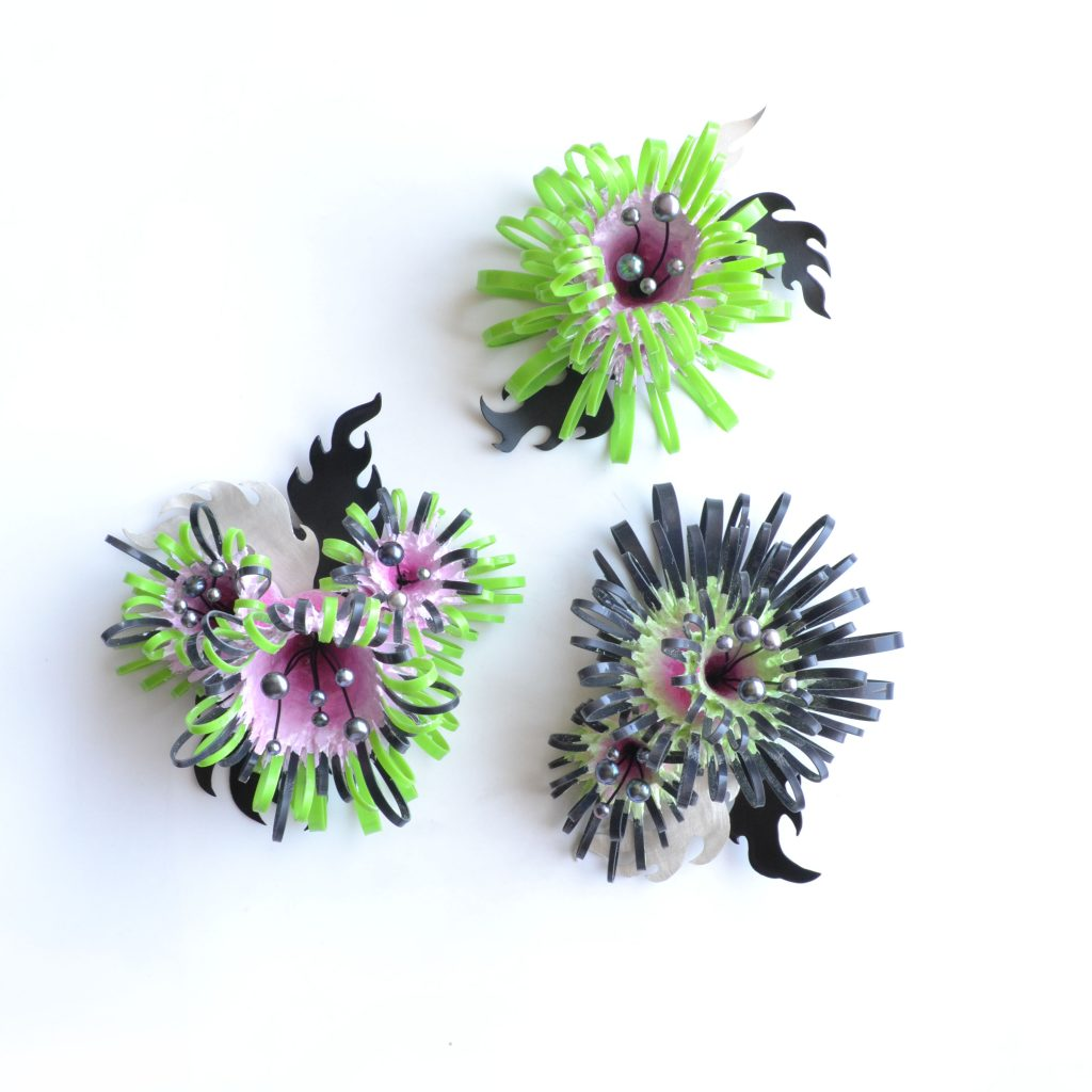 crazy carpet brooches 1